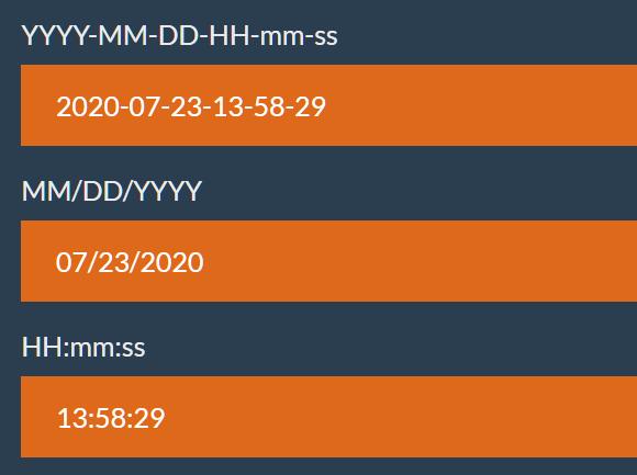Format JavaScript Date Strings – format-date