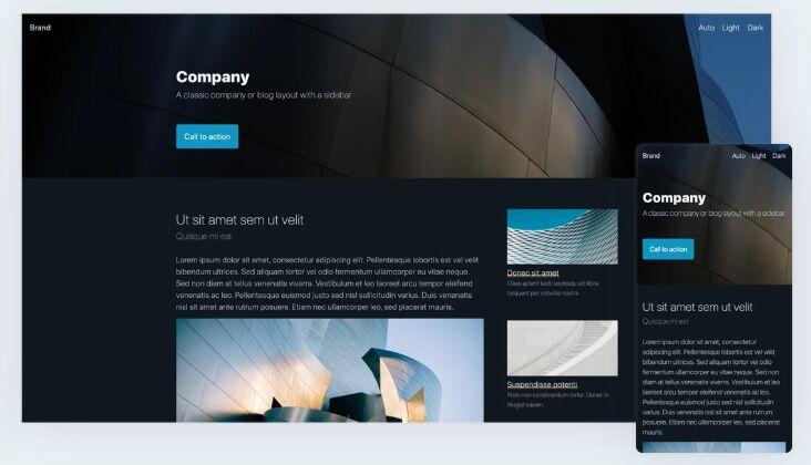 Minimal Clean CSS Design System – Pico.css