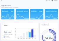 Voler Admin Dashboard Full View