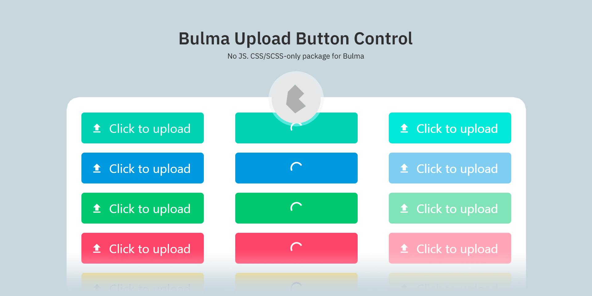 Beautiful Upload Buttons For Bulma Framework
