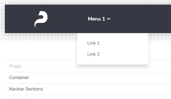 Punica CSS Framework Navbar