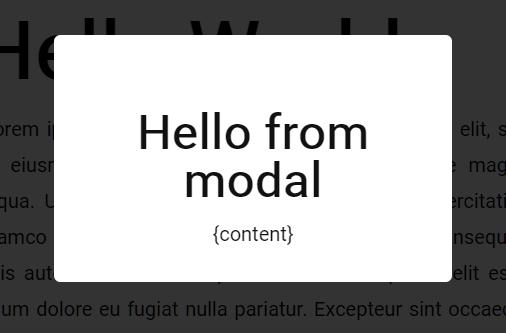 no.css modal