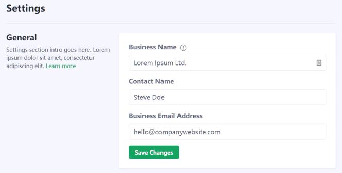 Portal Free Bootstrap 5 Admin Dashboard Template Settings