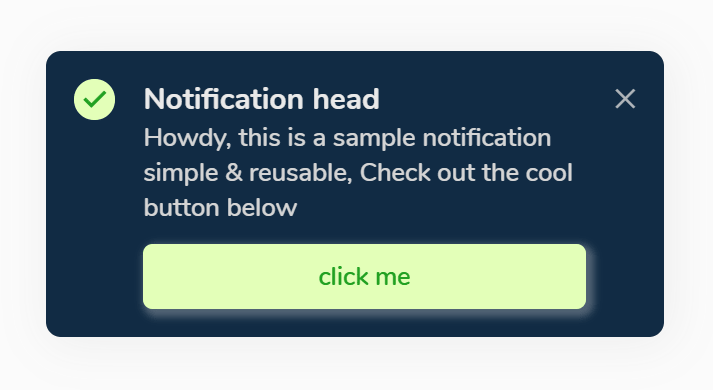 Reusable Toast-like Notification Box In Vanilla JavaScript – Foxx.js