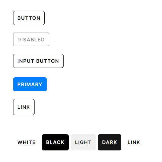 Skelet.css Buttons