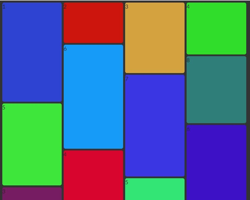 Responsive Grid Layout Builder In Vanilla JavaScript – EasyGrid