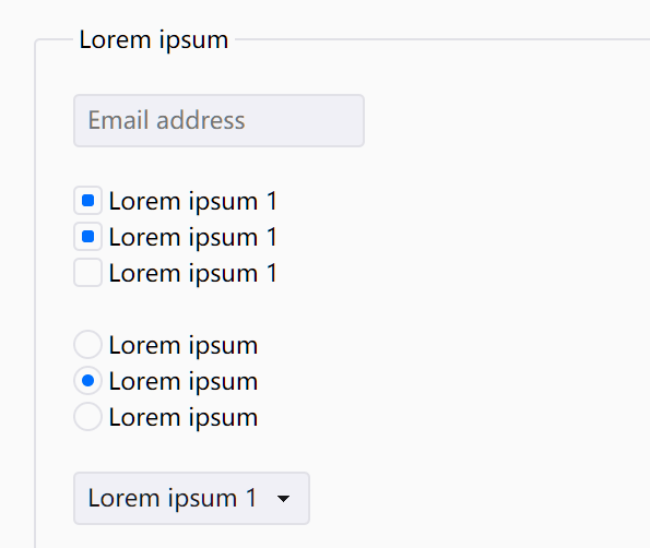 Peacock CSS Form