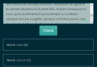 Duplicate Word Finder In Vanilla JavaScript