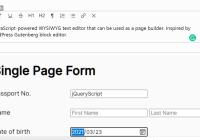 Wordpress Gutenberg Like WYSIWYG Block Editor - Pexego