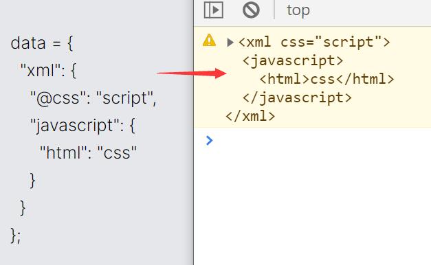 Convert JavaScript Object To XML String – toXML.js