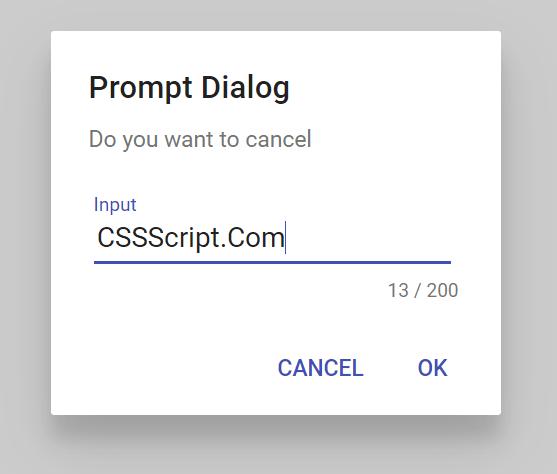SoloAlert Prompt Box