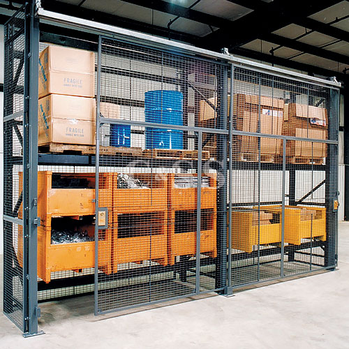 pallet rack enclosures wire products