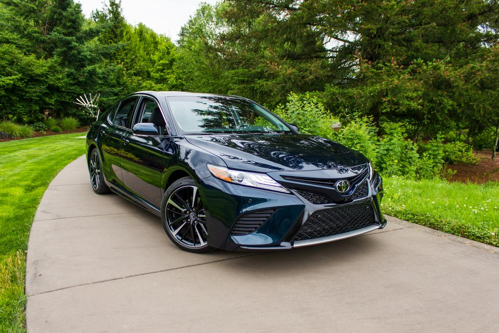 Toyota Camry Color Chart