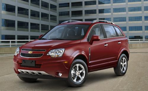 The Saturn Vue Is Back As The 2012 Chevrolet Captiva Sport