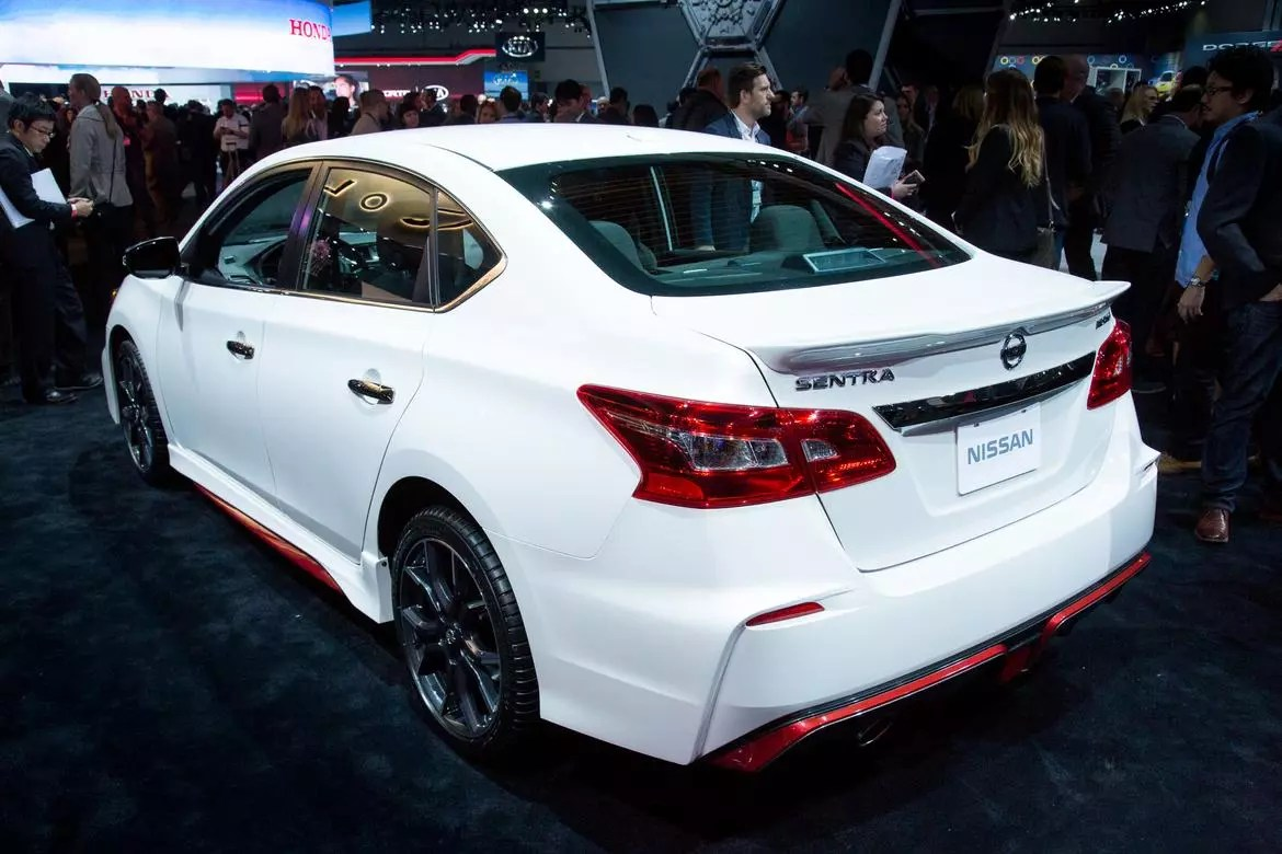 2017 Nissan Sentra NISMO Review First Impressions And