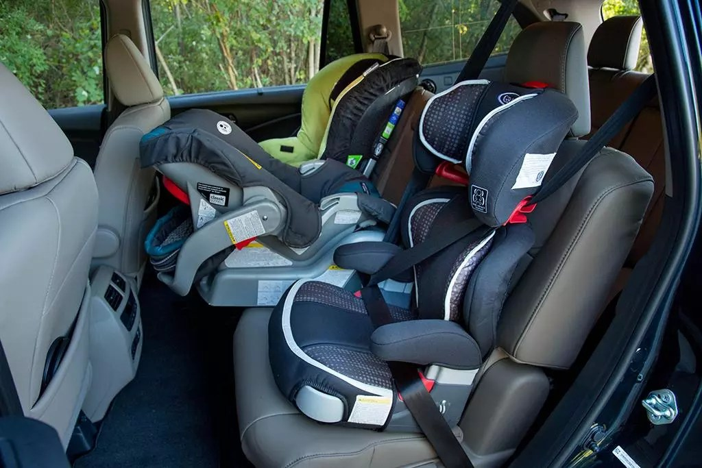 six great cars that fit three car seats in the second row in 2018. Black Bedroom Furniture Sets. Home Design Ideas