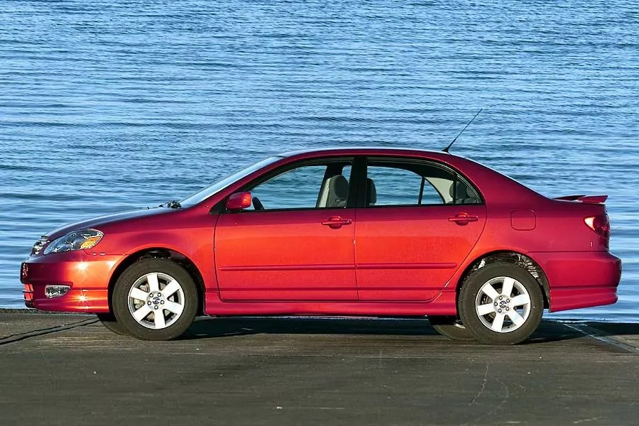 2003 Toyota Corolla Specs Pictures Trims Colors Cars Com