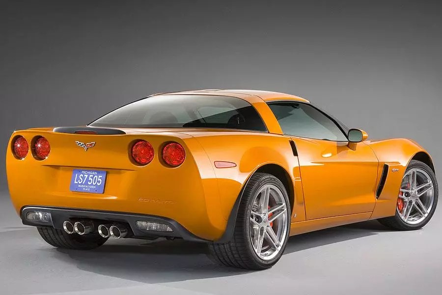 2007 Chevrolet Corvette Overview Cars Com