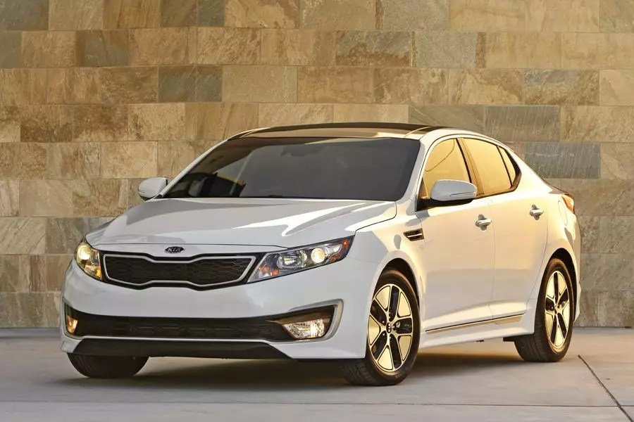 2012 Kia Optima Hybrid Overview Cars Com