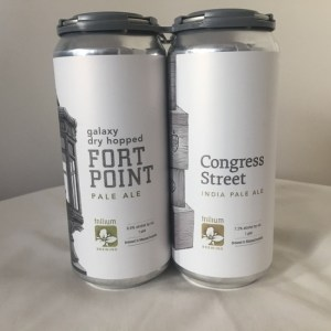 two cans of Trillium IPA