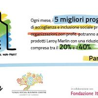 """""""La casa ideale"""": Leroy Merlin e Accenture insieme per sostenere progetti di inclusione sociale"""