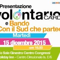 """Natale all'insegna del sociale: CSV Napoli illustra alle associazioni il bando """"Con il Sud che partecipa"""" e la Volontario Card"""