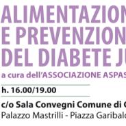Alimentazione e prevenzione del diabete junior. Cardito 31 marzo.