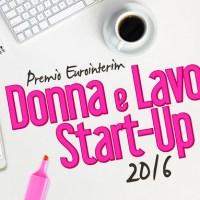 Premio nazionale Donna e Lavoro Startup