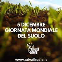 5 dicembre: #WorldSoilDay, ma in Europa non esiste ancora una legge che protegga il suolo.