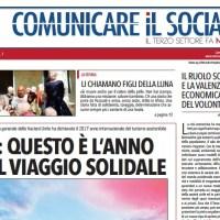 Bentornato Comunicare il Sociale. Ritorna la versione cartacea del giornale dedicato a volontariato e terzo settore