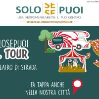 Ludopatia: un bando per progetti contro il Gioco d'Azzardo e tappa a Napoli per il tour SOLO SE PUOI