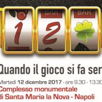 """""""Quando il gioco si fa serio"""": CSV Napoli promuove un incontro sul fenomeno dell'azzardo"""