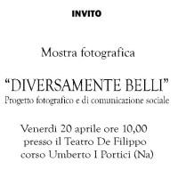 """""""Diversamente belli"""", a Portici la mostra che racconta la bellezza della diversità"""
