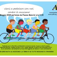 Primo Maggio: pedalata antirazzista per promuovere la pace