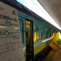 In viaggio verso una mobilità a zero emissioni. Tappa a Napoli per il Treno Verde di Legambiente