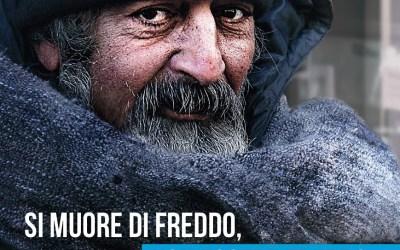 L'inverno di Progetto Arca a fianco dei senzatetto: più monitoraggio e più assistenza a chi vive in strada