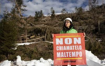 Non chiamatelo maltempo! Firma la petizione per dire STOP ai disastri climatici