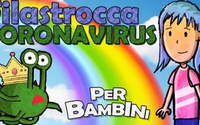 Un cartone e una filastrocca per spiegare il Coronavirus ai bambini