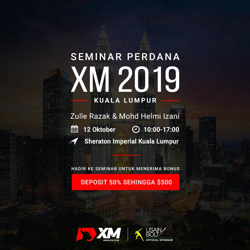 Seminar Perdana XM 2019
