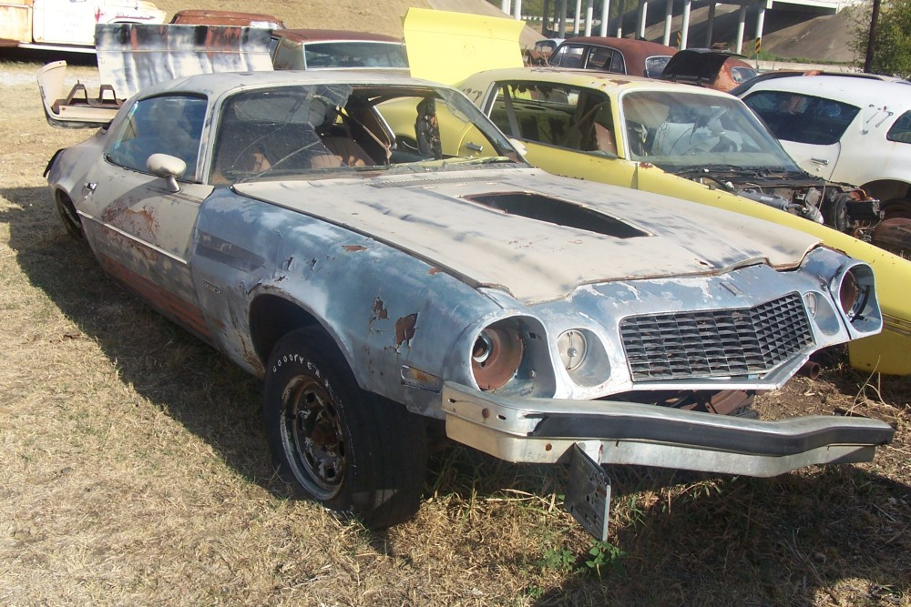 1975 Chevrolet Camaro Parts Car 1 1975 Chevrolet Camaro Parts Car 1