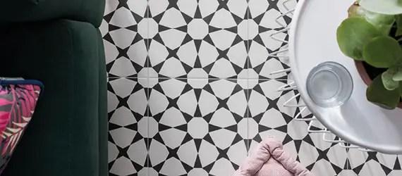 hallway patterned floor tiles clever