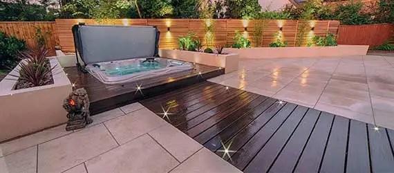 outdoor tiles for garden spaces