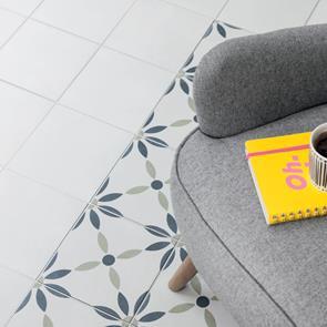 bayamo white matt tile 223x223mm
