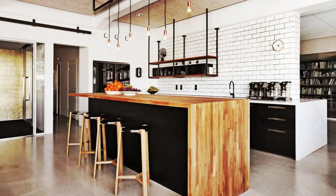 cuisine ouverte avec bar nos plus