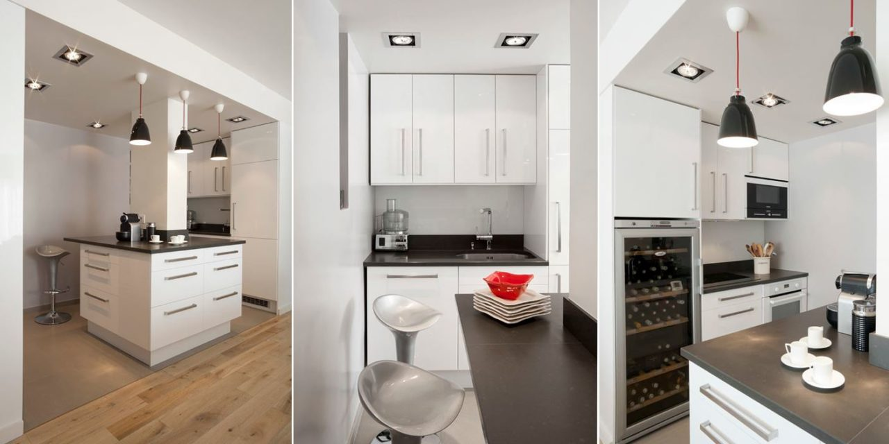 petite cuisine equipee 25 idees pour une cuisine moderne et fonctionnelle