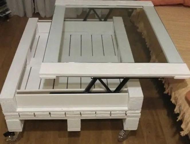 60 tables basses en palette pour un