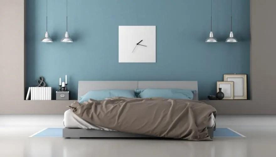 chambre couleur taupe en deco