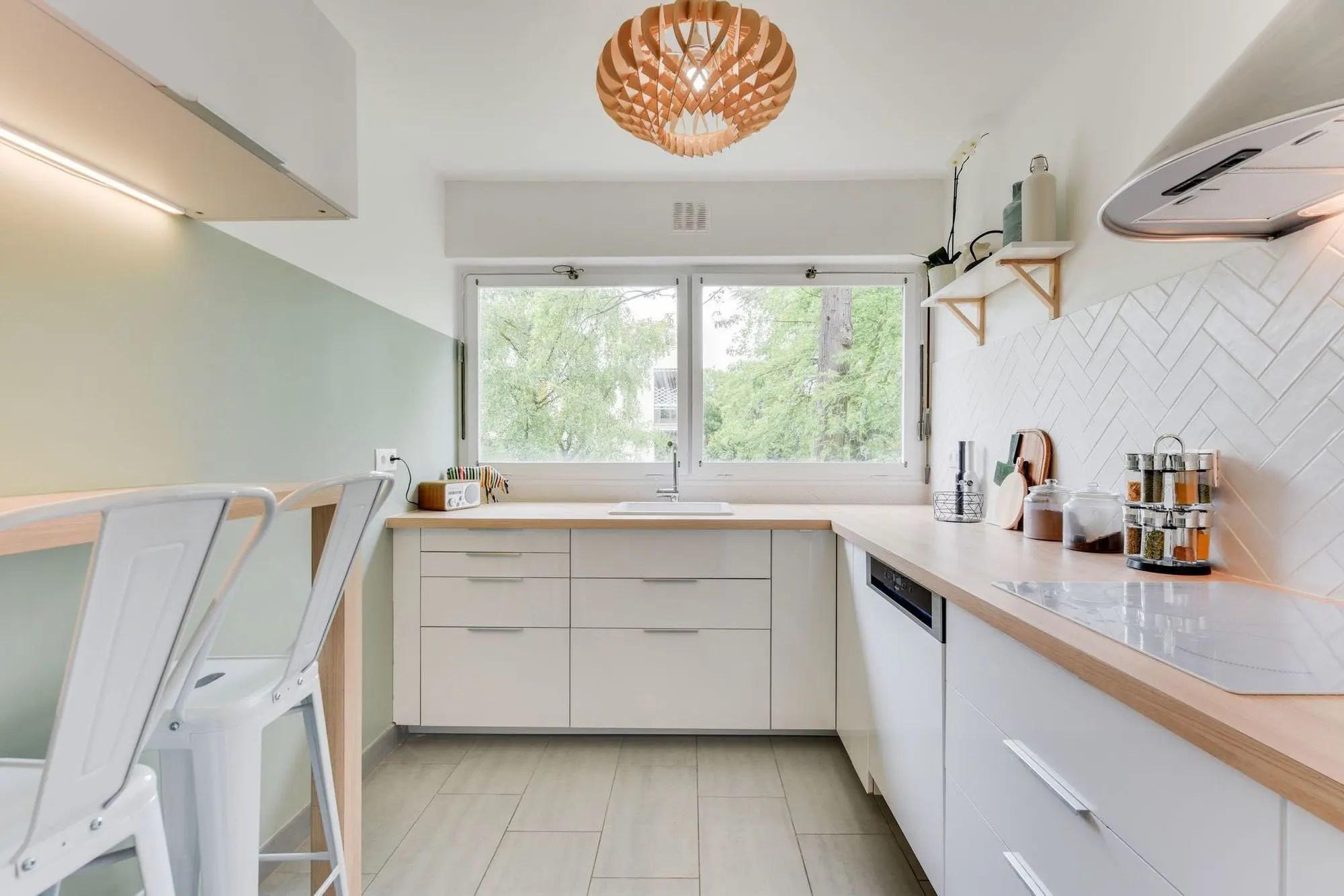 peinture pour une cuisine blanche