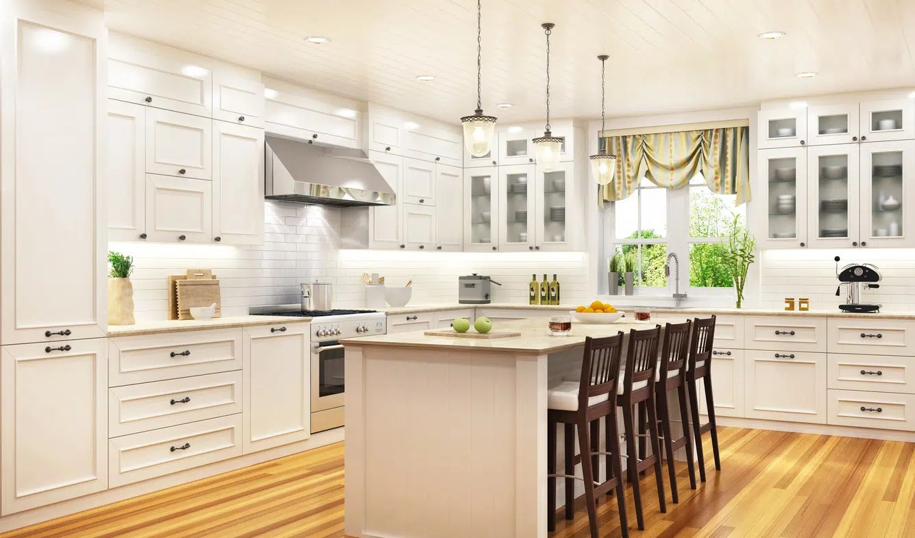cuisine americaine blanche selection de 15 modeles design