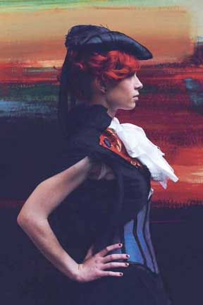 Some Steampunk fashion from Redfield Design.